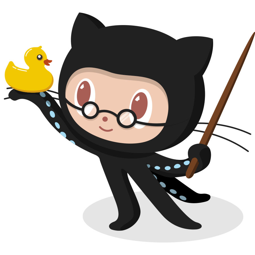 Octocat with Orckie